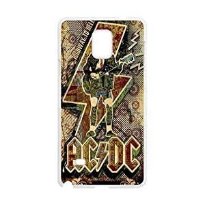 customize Alternating Current Direct Current ACDC spaceAnd Phone Case to for Samsung Galaxy In Note4 have TOOT0 Case
