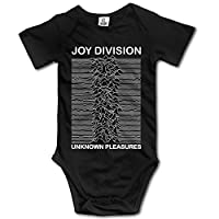 Novelty Baby Onesie Joy Division Unknown Pleasures Ian Curtis Short Sleeve Bodysuit