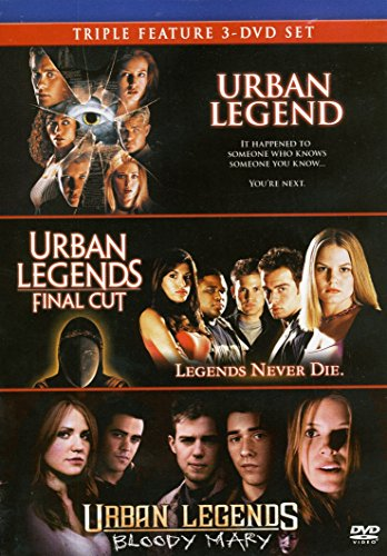 Final Cut Dvd - Triple Feature: Urban Legend, Urban Legends: Final Cut & Urban Legends: Bloody Mary