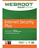 #8: Webroot Internet Security Plus 2018   1 Year   PC [3 Devices Subscription]
