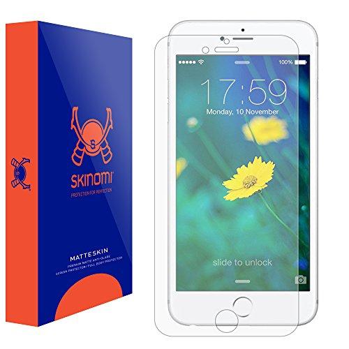 iPhone 6S Plus Screen Protector (Apple iPhone 6 Plus 5.5), Skinomi MatteSkin Full Coverage Screen Protector for Apple iPhone 6S Plus Anti-Glare and Bubble-Free Shield