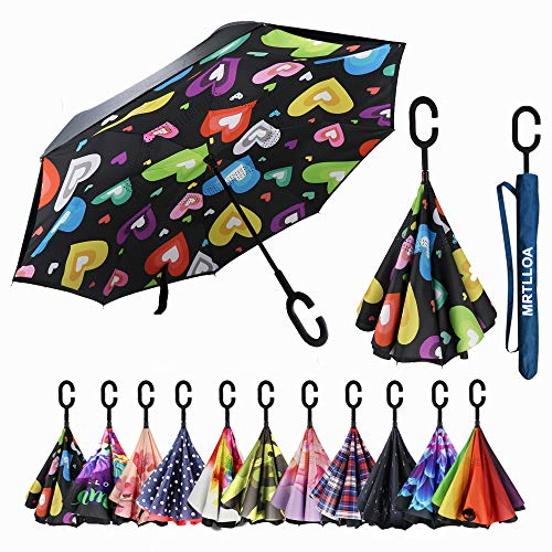 MRTLLOA Inverted Umbrella Waterproof Windproof