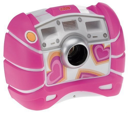 Fisher-Price Kid-Tough Digital Camera, Pink ()