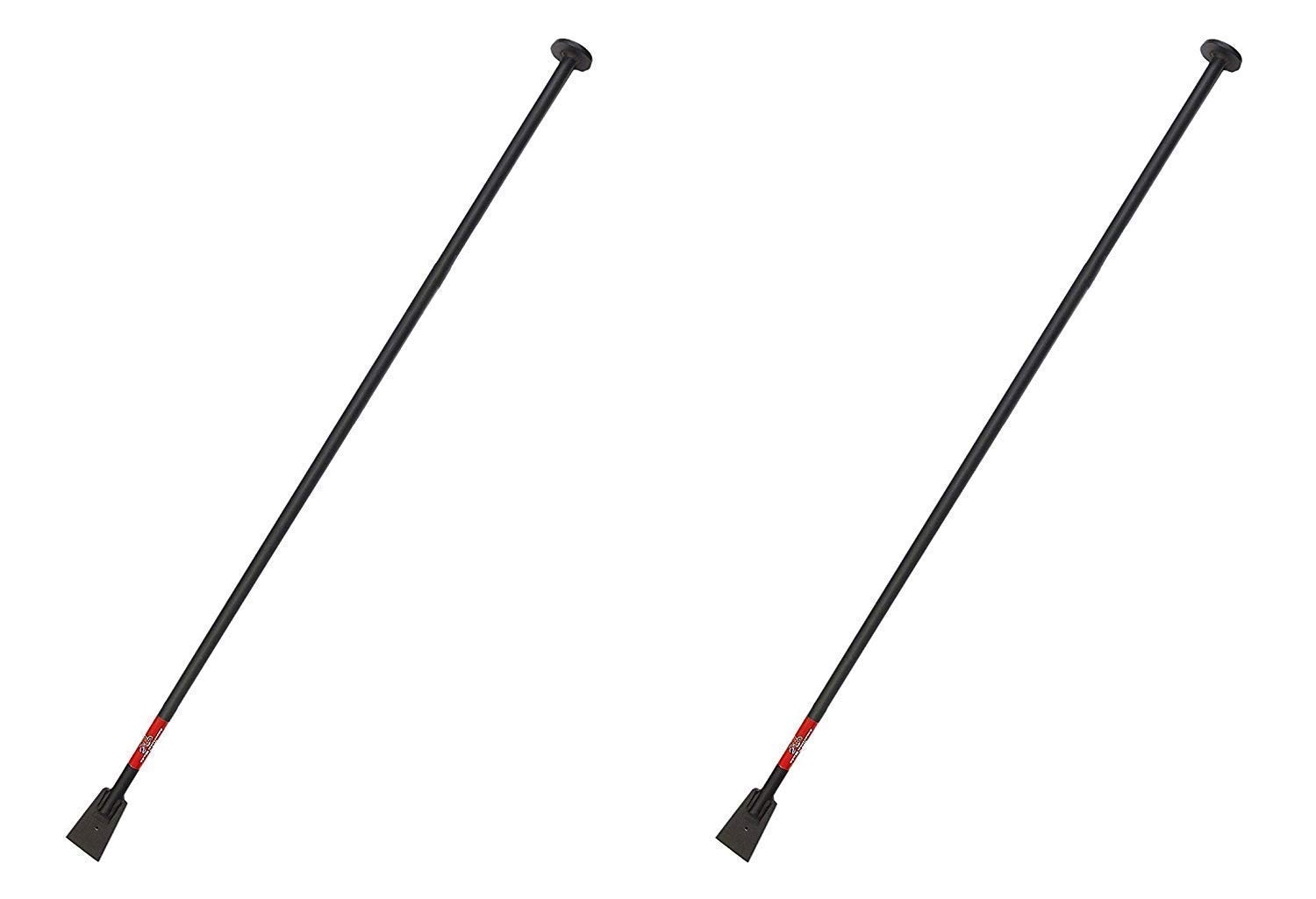Bully Tools 92539 Steel Tamping and Digging Bar, 68-Inch (Pack of 2)
