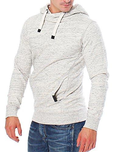 URBAN SURFACE cooles Herren Sweatshirt mit Kapuze Hoodie Pullover 20348