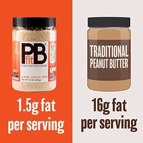 PBfit All-Natural Peanut Butter Powder, 30 Ounce