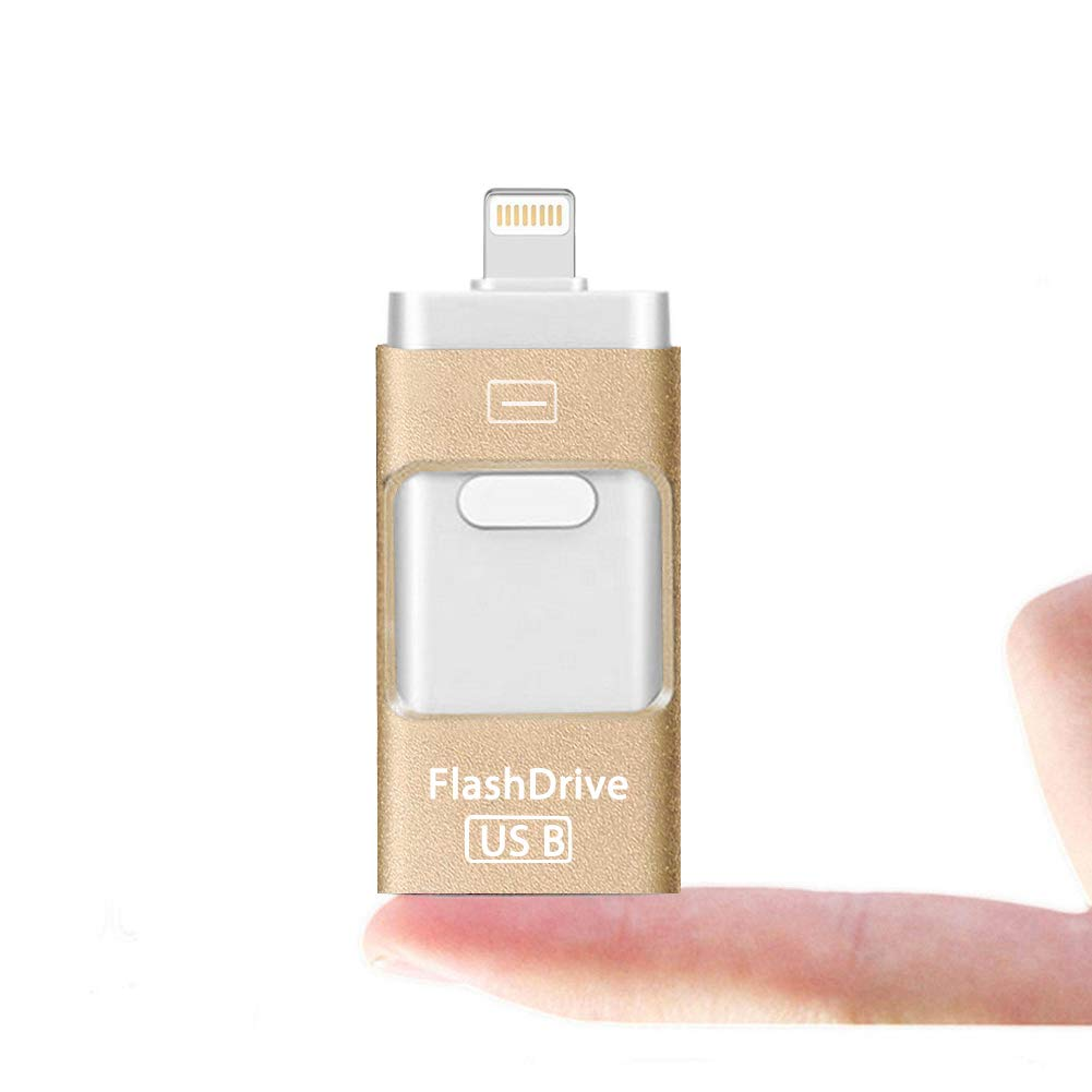 Galleon - USB Flash Drive 128GB Compatible With Apple IOS