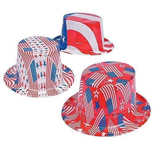 Fun Express Patriotic Hats - 12 pieces by Fun Express