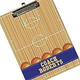 monogrammed clip board - Monogrammed Basketball Clipboard - Coach Player