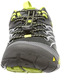 KEEN Chandler CNX Shoe (Toddler/Little Kid/Big Kid),Raven/Bright Chartreuse,12 M US Little Kid