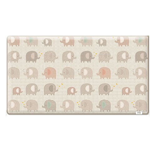 Parklon Elephant Sillky Baby Play Mat Baby Mat Floor Mat Baby Comfort Mat (Medium) by Parklon