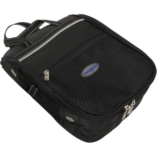 Samsonite Deluxe Ballistic Nylon Shoe Bag (Black), Outdoor Stuffs