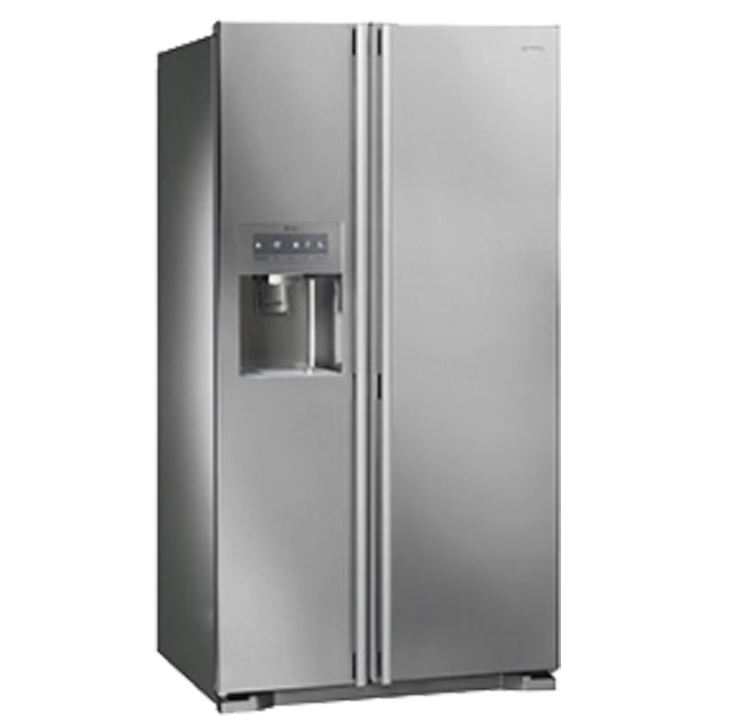 Smeg SS55PTE3 Independiente 538L A+ Acero inoxidable nevera puerta ...