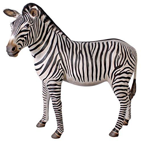 Grand Scale African Zebra Statue