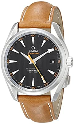 Omega Men's 23112422101002 Seamaster150 Analog Display Swiss Automatic Brown Watch