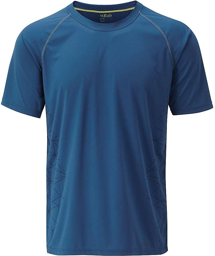 RAB Antena SS – Camiseta Hombre - QBU-43-IK-M, Ink: Amazon.es ...