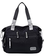 Waterproof Nylon Shoulder Bag Travel Work Tote Bag