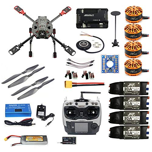 QWinOut J630 630mm DIY 2.4GHz 4-Aixs RC Drone APM2.8 Flight Controll M7N GPS with AT9S TX Headless Module Quadcopter