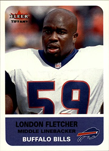 2002 Fleer Tradition Tiffany #235 London Fletcher /225 - - London Tiffany Shop