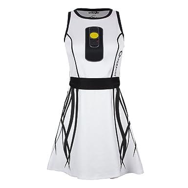 Portal I Am Glados Juniors White Skater Dress: Amazon co uk