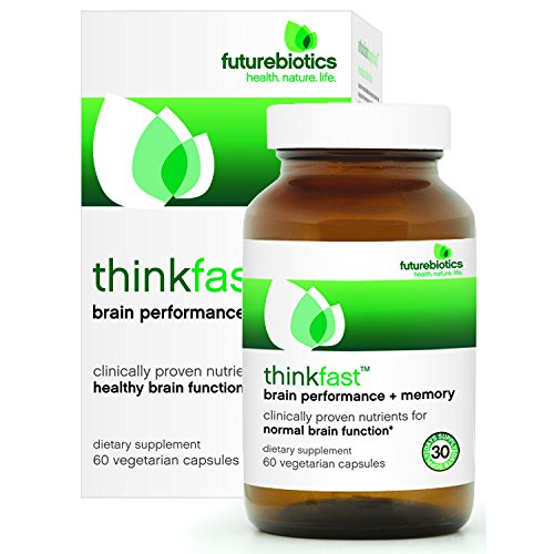Futurebiotics ThinkFast, Brain Performance and Memory, 60 Vegetarian Capsules