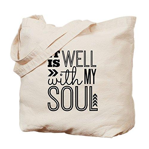CafePress–it está bien con mi alma–Gamuza de bolsa de lona bolsa, bolsa de la compra