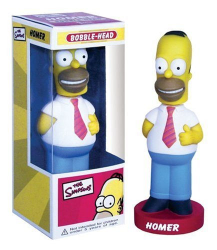 Homer Simpson Wacky Wobbler by FunKohttps://amzn.to/2TnxQU2