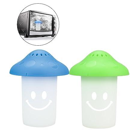 Amazon.com: houzemann 2pcs limpiador de microondas, horno de ...