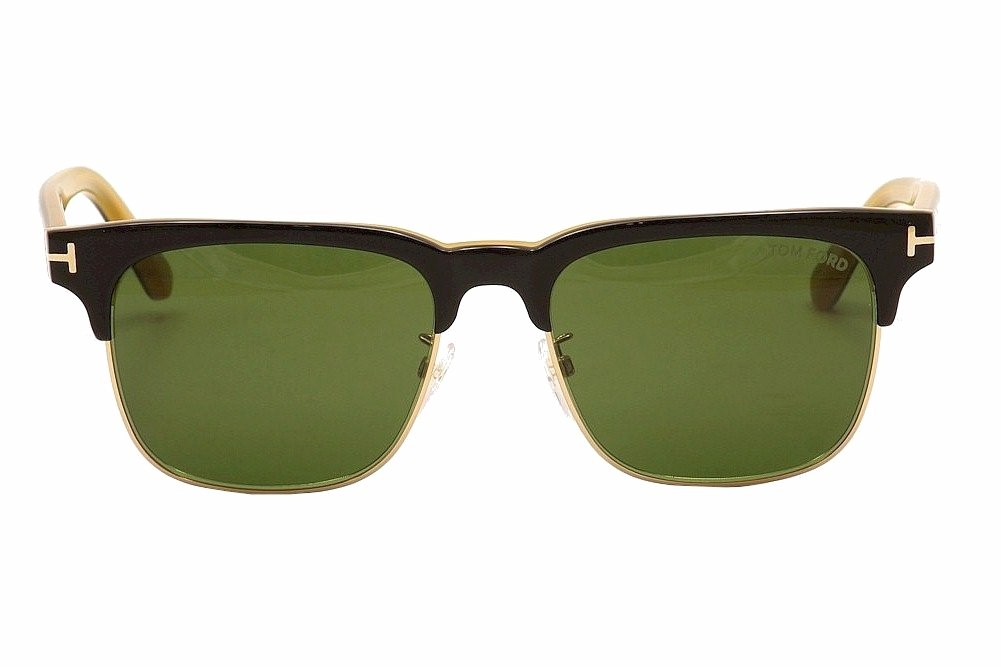 eb6fbc10e750 Amazon.com  Tom Ford TF386 05N Black Yellow Louis Square Sunglasses Lens  Category 3 Size  Sports   Outdoors