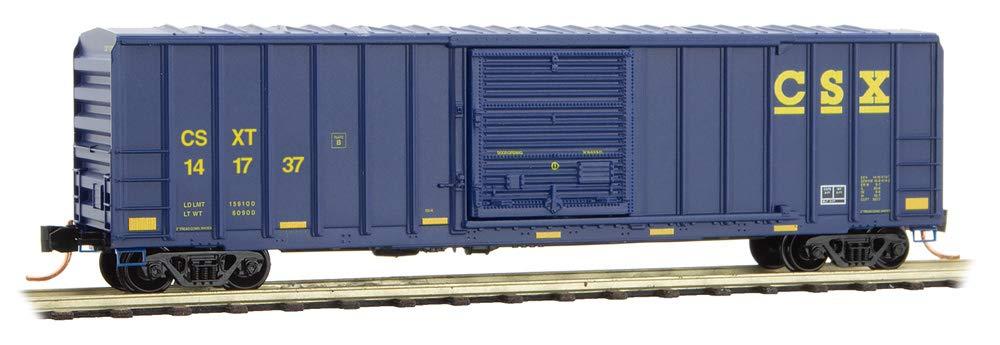 Micro-Trains MTL N-Scale 50ft SD Ribbed Side Box Car CSX Transportation #141737