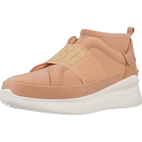 Calzado Deportivo para Mujer, Color Hueso, Marca UGG, Modelo Calzado Deportivo para Mujer UGG Neutra Sneaker Hueso: Amazon.es: Zapatos y complementos