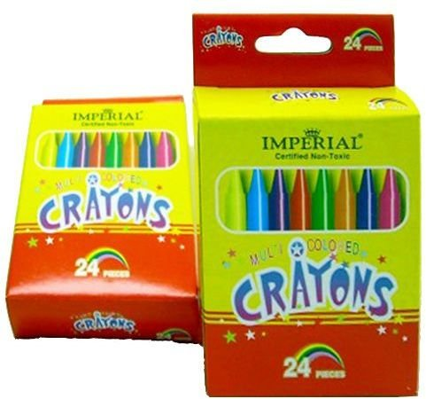 Pack Of 24 Crayons 144 pcs sku# 1784047MA by DDI