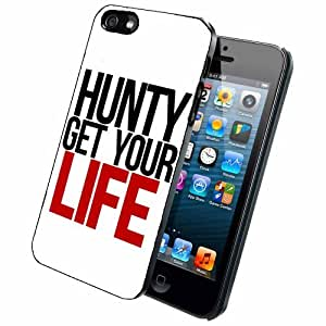 Hunty Get Your Life Case Back Cover (iPhone 5/5s - Plastic)