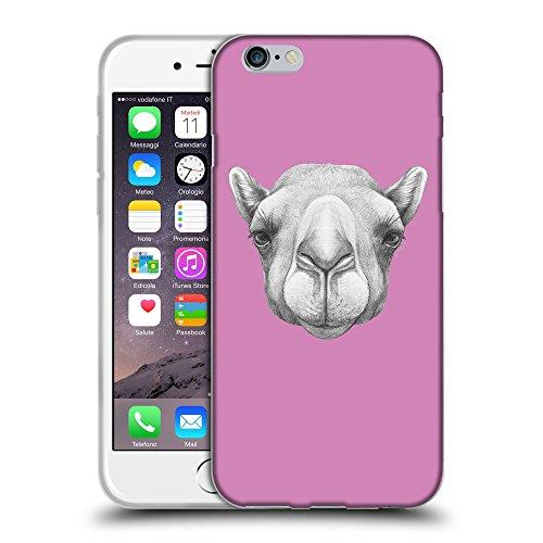 """GoGoMobile Coque de Protection TPU Silicone Case pour // Q05360618 Portrait Camel Bronze // Apple iPhone 6 PLUS 5.5"""""""