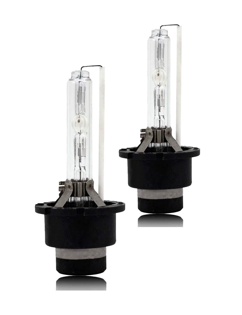 "7/"" Headlights Headlamp Halogen H4 9003 Light Bulbs Super White 60//55W 7500K HID"