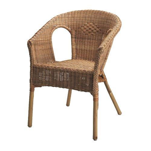 Ikea AGEN - Chair, rattan, bamboo
