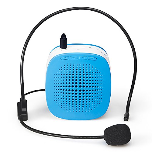 Rechargeable Amplifier Loudspeaker Microphone Adjustable