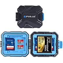 Top-spring SD Card Holder Case Waterproof 9 Slots Resistant Memory Card Case Holder Storage Protector Box for SD SDHC CF Micro SD TF XQD Card Mini Size