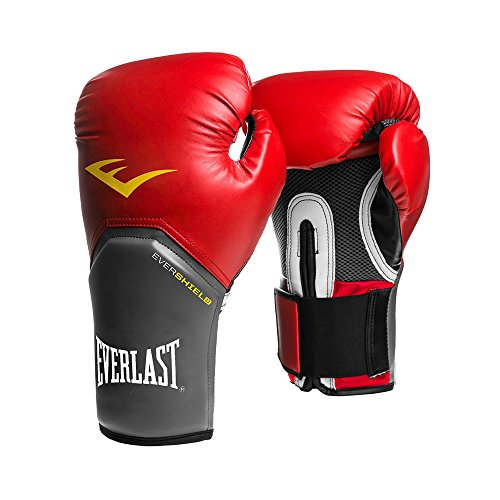 Everlast Pro Style Elite Training Boxing Gloves (Red , 16oz)