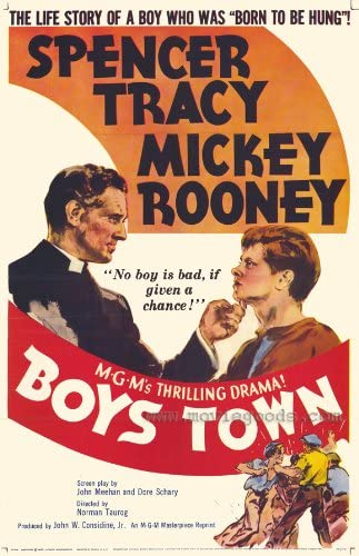 Amazon.com: Movie Posters Boys Town - 27 x 40: Posters & Prints