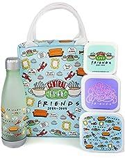 Vrienden Lunch Bag Centrale Perk Rechthoekige Tote Stijl 5 Stuk Set Een maat