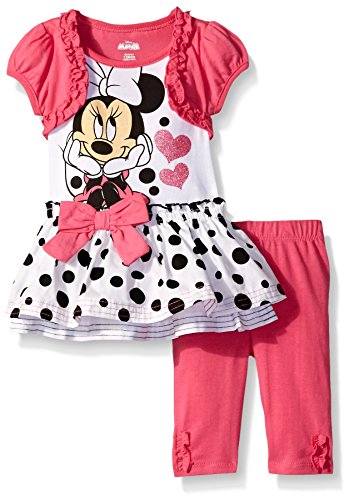 Minnie Mouse Girls Dress Leggings