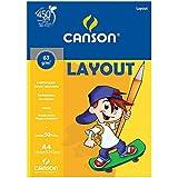 Bloco de Layout A4 C/ 50 Fls 21x29,7cm 66667074 Canson