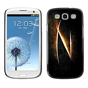 All Phone Most Case / Hard PC Metal piece Shell Slim Cover Protective Case Carcasa Funda Caso de protección para Samsung Galaxy S3 I9300 Glowing N