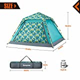 KingCamp-Quick-Up-3-4-Person-Screen-House-Leisure-Tent-Attached-with-Canopy-for-Beach-Camping