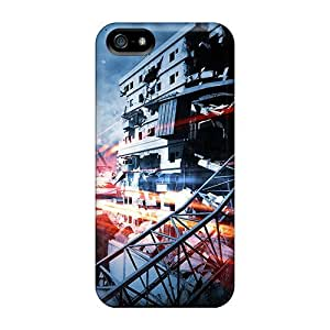 Excellent Iphone 5/5s Case Tpu Cover Back Skin Protector Battlefield 3 Aftermath Epicenter by Maris's Diary