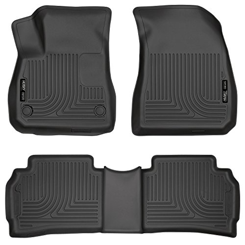 Husky Liners Front & 2nd Seat Floor Liners (Footwell Cove...
