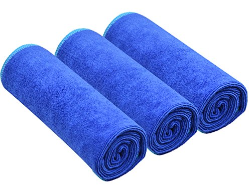 Sinland Microfiber Fast Drying Gym Towels Sports Fitness Wor
