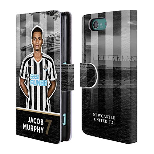 Compact Murphy Wallet (Official Newcastle United FC NUFC Jacob Murphy 2018/19 First Team Group 1 Leather Book Wallet Case Cover for Sony Xperia Z3 Compact / D5803)