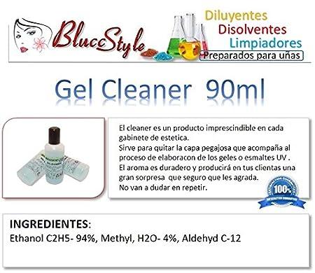 Gel Cleaner 100ml Eliminar La Capa Pegajosa De Geles Uv Y Esmaltes Permanentes
